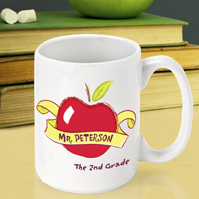 Personalized Teacher Coffee Mugs