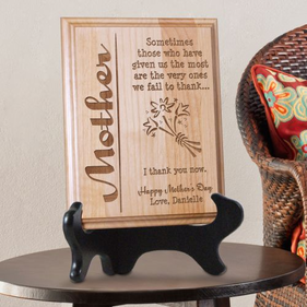Personalized Thank You Plaque