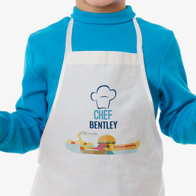 Personalized Sous Chef Kids Apron
