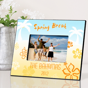 Personalized Vacation Frame