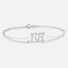 Personalized Two Initial Bracelet