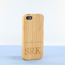 Personalized Two Pieces Bamboo iPhone 5 Case