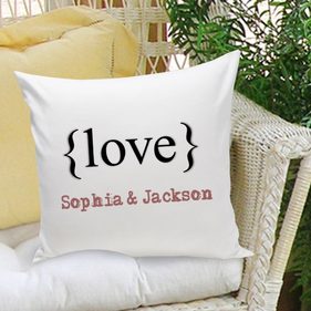 Personalized Decorative Pillow