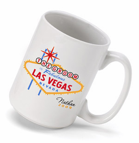 Personalized Coffee Mug for Vegas Weddings