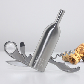 Personalized Multi-Tool Set - Vino Wine Bottle