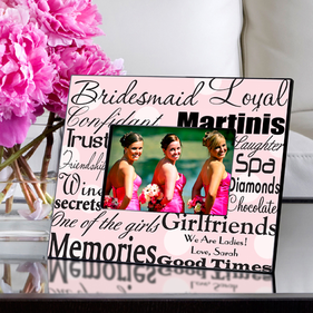 Personalized Wedding Party Frames