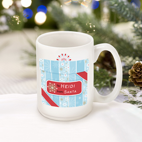 Personalized Winter Holiday Mug
