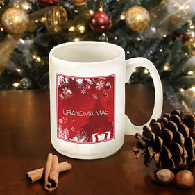 Personalized Winter Holiday Mugs
