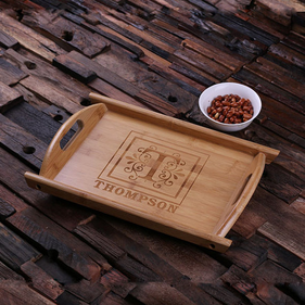 Personalized Wood Serving Trays