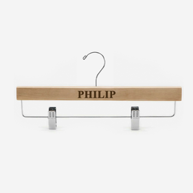 Personalized Wooden Pants Hanger