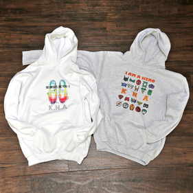 Personalized Teen Hooded Sweatshirt