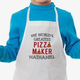 Pizza Maker Custom Kids Apron