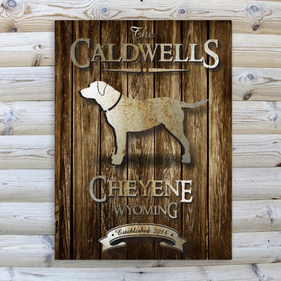 Personalized  Wood Canvas Prints