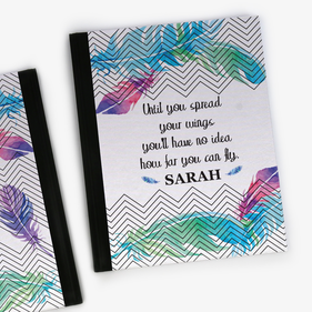 Spread Your Wings Personalized Notebook
