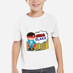 Superheroes Personalized Kids T-Shirt
