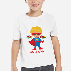Superboy Personalized Character T-Shirt