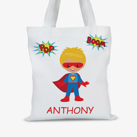 Superboy Personalized Character Tote Bag