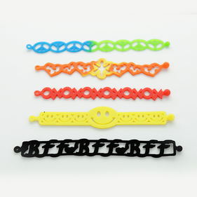 "Tattoo Bandz Bracelets ""Friendship"" 5 Packs"