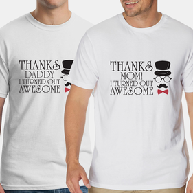I Turned Out Awesome Personalized T-Shirt