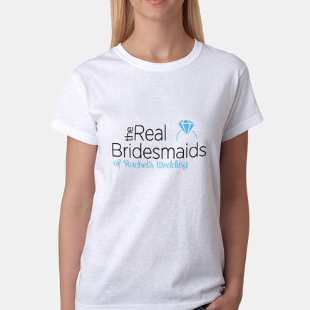 The Real Bridesmaids Personalized T-Shirt
