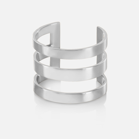 Triple Strap Backless Ring