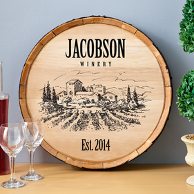 Personalized Wine Home Decor Signs