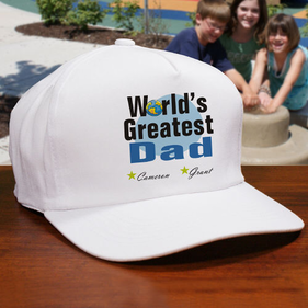 World's Greatest Personalized Hat