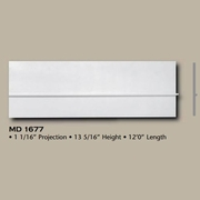 Deco Flex Spectis Moulding Base Trim MD 1677 Interior Flex