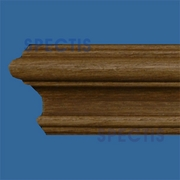 Deco Flex Wood Grain Chair Rail MD1201WG Interior Flex