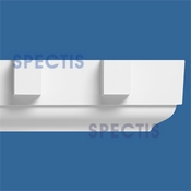 "Spectis Crown Moulding Dentil Trim MD1007 - 9 1/8""P X 10""H X 12'0""L"