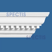 "Spectis Crown Moulding Dentil Trim MD1022 - 4 1/4""P X 4 3/4""H X 12'0""L"