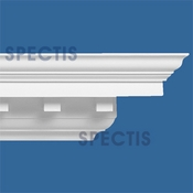 "Spectis Crown Moulding Dentil Trim MD1047 or MD 1047 Moulding - 7 1/2""P X 7 1/2""H X 12'0""L"
