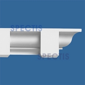 "Spectis Crown Moulding Dentil Trim MD1065 or MD 1065 Moulding - 3 3/4""P X 3 3/4""H X 11'9""L"