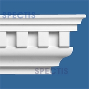 "Spectis Crown Moulding Dentil Trim MD1099D or MD 1099D Moulding - 8 1/4""P X 11 1/4""H X 12'0""L"