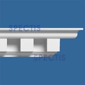 "Spectis Crown Moulding Dentil Trim MD1141 - 5""P X 5 1/2""H X 12'0""L"