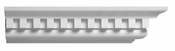 "Spectis Crown Moulding Dentil Trim MD1246 or MD 1246 Moulding - 9 1/2""P X 11 1/4""H X 12'0""L"