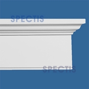 "Spectis Crown Moulding Head Trim MD1083 or MD 1083 Moulding - 3 3/8""P X 9 1/8""H X 12'0""L"