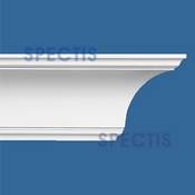 "Spectis Crown Moulding Trim MD1021 - 6 1/4""P X 6 1/4""H X 12'0""L"