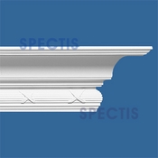 "Spectis Crown Moulding Trim MD1036 or MD 1036 Moulding - 6 1/2""P X 6 1/2""H X 12'0""L"