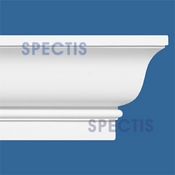 "Spectis Crown Moulding Trim MD1042 or MD 1042 Moulding - 5 3/8""P X 10 1/4""H X 12'0""L"
