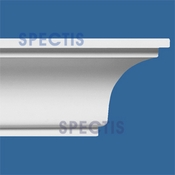 "Spectis Crown Moulding Trim MD1076 or MD 1076 Moulding - 7 7/8""P X 10""H X 10'0""L"