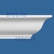 "Spectis Crown Moulding Trim MD1102 or MD 1102 Moulding - 7 3/4""P X 8""H X 12'0""L"