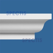 "Spectis Crown Moulding Trim MD1104 or MD 1104 Moulding - 10""P X 15 1/4""H X 12'0""L"