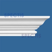"Spectis Crown Moulding Trim MD1113 or MD 1113 Moulding - 3 1/2""P X 4 1/2""H X 12'0""L"
