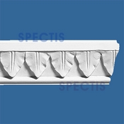 "Spectis Crown Moulding Trim MD1123 or MD 1123 Moulding - 1""P X 2 1/2""H X 8'0""L"