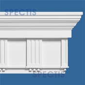 "Spectis Crown Moulding Trim MD1154 - 6""P X 16""H X 12'0""L"