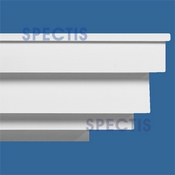 "Spectis Crown Moulding Trim MD1184 - 10 1/2""P X 13 3/4""H X 12'0""L"