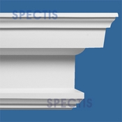"Spectis Crown Moulding Trim MD1192 or MD 1192 Moulding - 9""P X 19 1/8""H X 12'0""L"