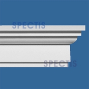 "Spectis Crown Moulding Trim MD1205 or MD 1205 Moulding - 2 1/4""P X 4""H X 12' 0""L"