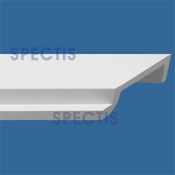 "Spectis Crown Moulding Trim MD1219 or MD 1219 Moulding - 9 5/8""P X 3 1/2""H X 12'0""L"
